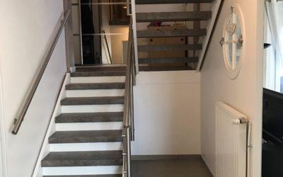 Comment rénover un escalier à claire voie à Gex
